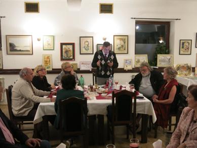 Predsednik R.C. Novi Sad sa donatorima